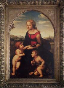 Scuola Francese – Paul Guette – Madonna con bambino