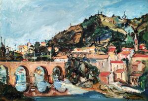Renata Cervellati – Ponte su fiume Reno