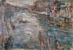 Emilio Vedova – Canal grande dal mio studio
