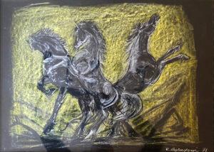 Renzo Capredoni – Cavalli imbizzarriti