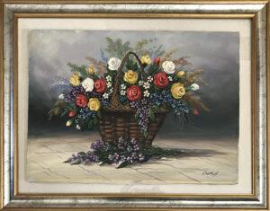Antonio Cirelli – Cesto di fiori