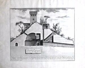 Giovan Battista Piranesi – Spaccato del sepolcro di Alessandro Severo