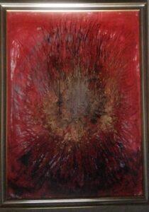 Roberto Baglietto –  Il Cristo tra le anemoni