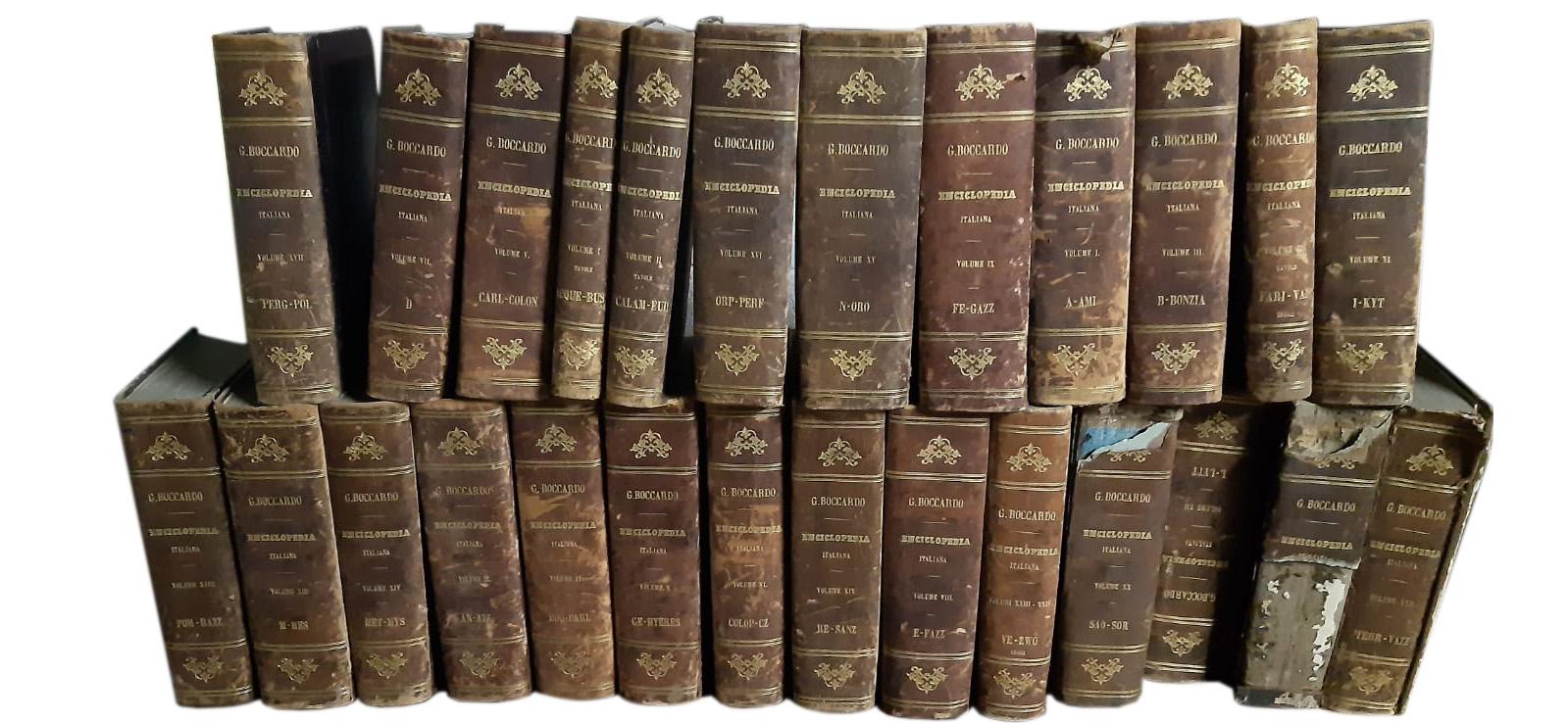 Enciclopedia italiana Boccardo – UTET