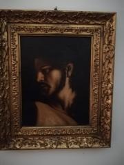 Franco Gulino – Volto di Cristo (dalla Vocazione di San Matteo di Caravaggio)