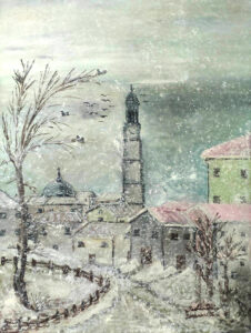 Loredana Di Paolantonio – Paesaggio innevato