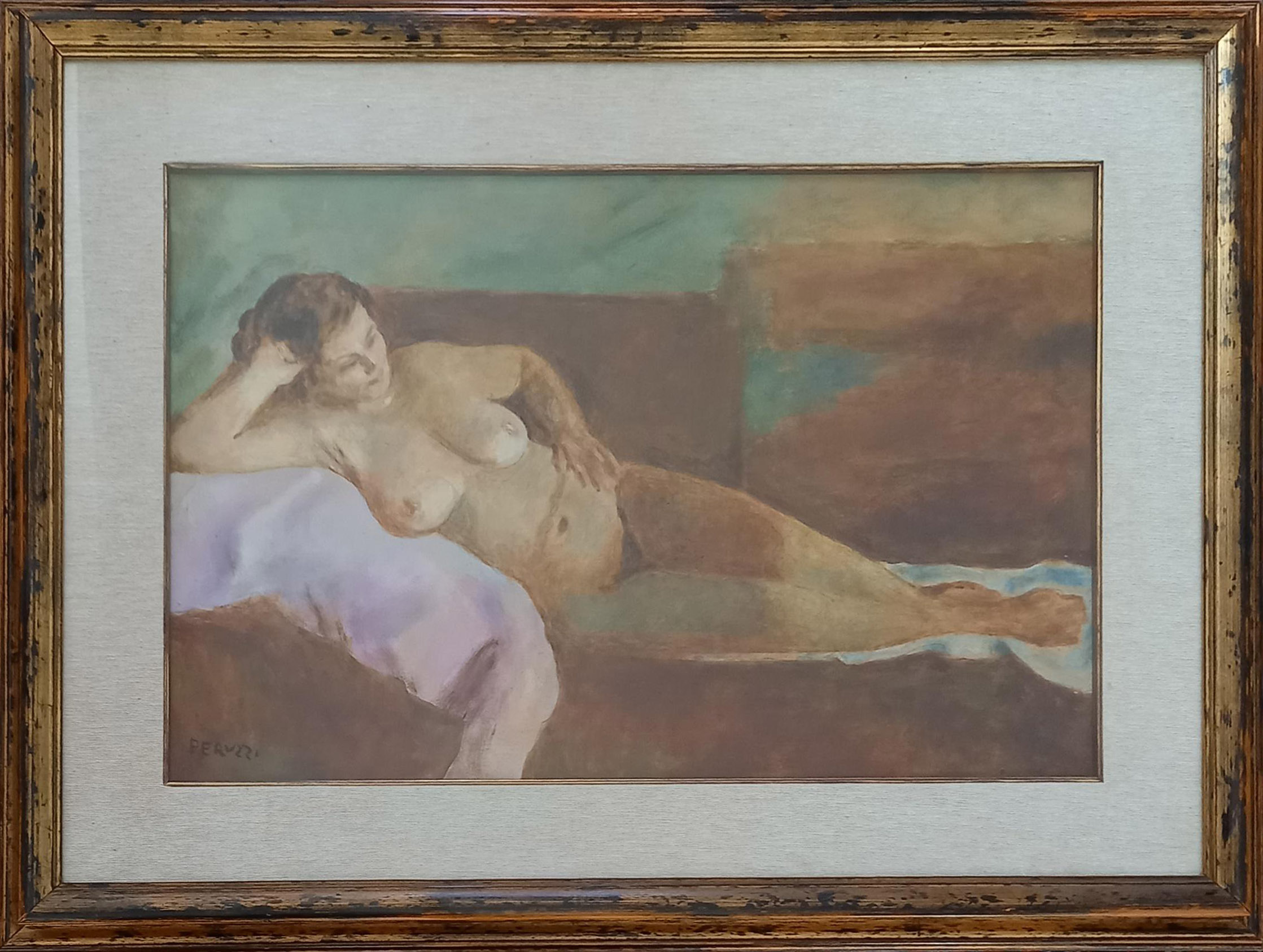 Cesare Peruzzi – Nudo disteso