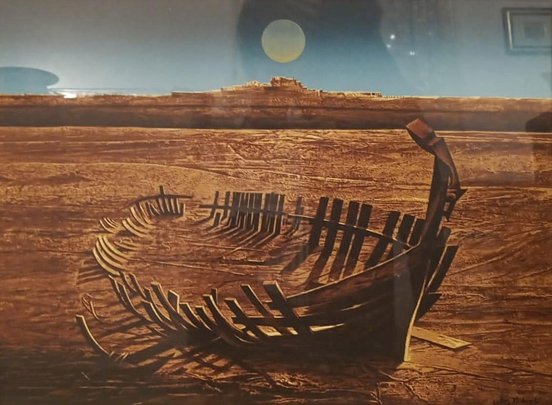 Mario Logli – Relitto di barca
