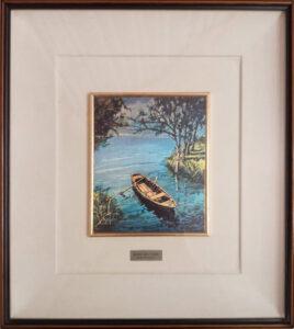 Primo Marcarini – Barca solitaria