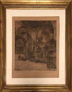 Alfons Blomme – Basilica di San Marco, Venezia