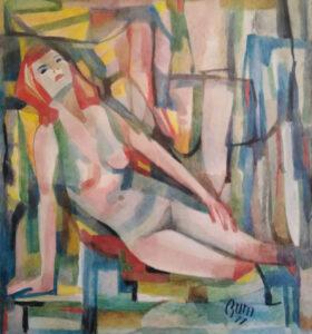 Bum (Umberto Maria Baldassarri) – Figura di donna