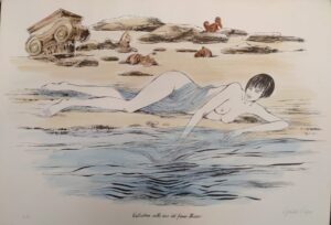 Guido Crepax – Valentina sulle rive del fiume Ilisso