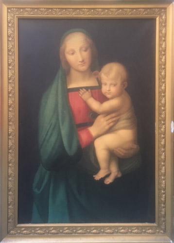 Anonimo di Scuola fiorentina – Madonna del Granduca (da Raffaello)