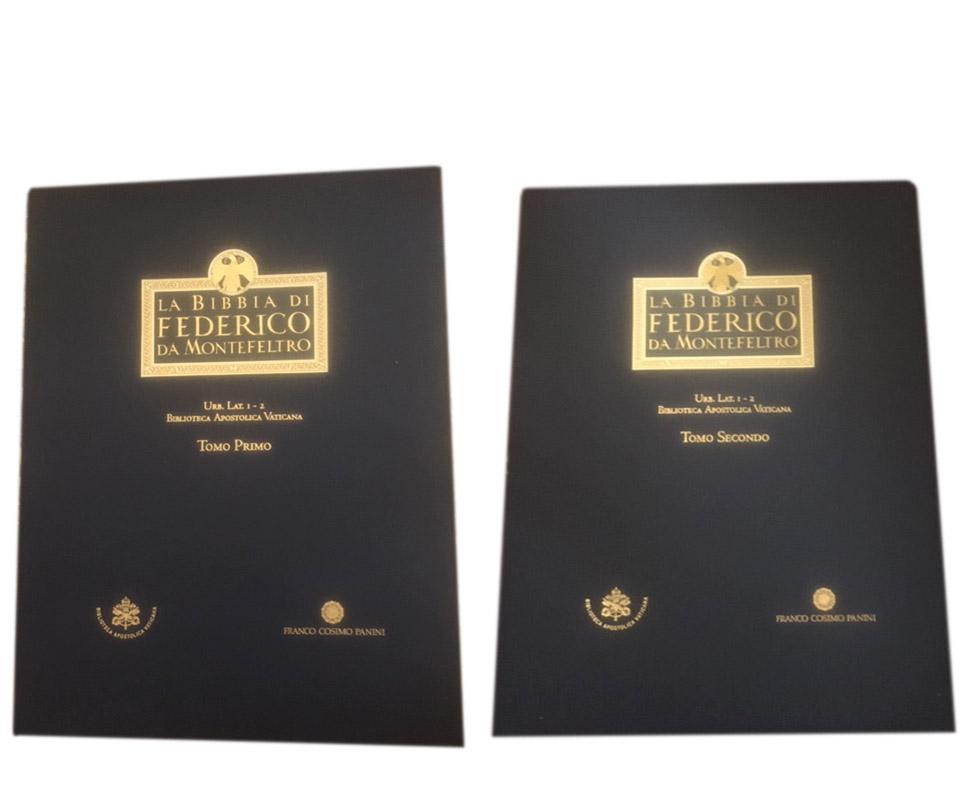 La bibbia di Federico di Montefeltro Tomo Primo e Secondo – Franco Cosimo Panini