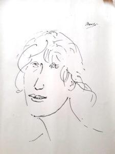Giacomo Manzú – Testa di donna