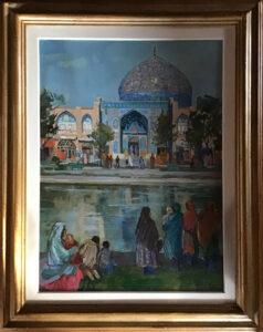 Aldo Mari – La Moschea Lofallah, nella piazza reale a Isfahan