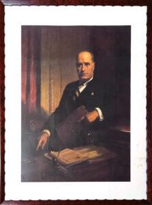 Romano Mussolini – Fotoritratto autenticata a mano