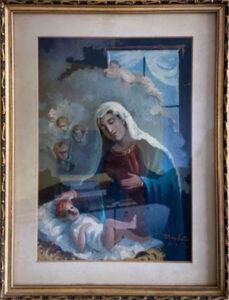 Tullio Bacchetta – Madonna con Gesù bambino