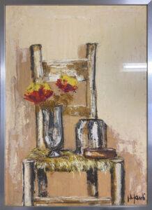 Fanti – Sedia con vaso di fiori