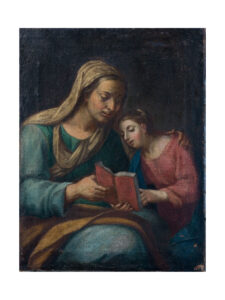Anonimo – Educazione della Vergine