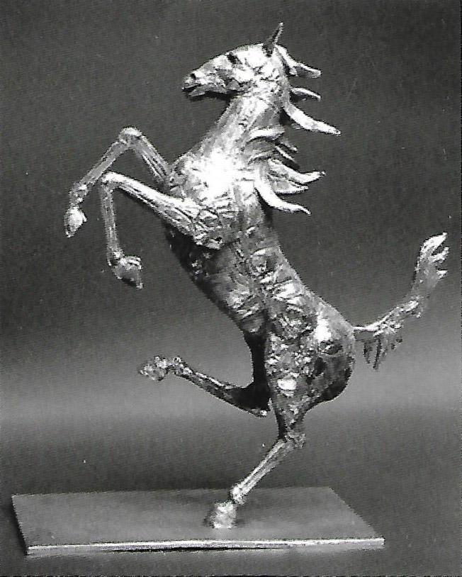 Helidon Xhixha – Cavallino rampante