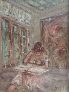 Michele Spatuzzi – Donna che legge
