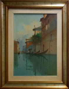 Aldo Marangoni – Figura del Settecento, calle Veneziana