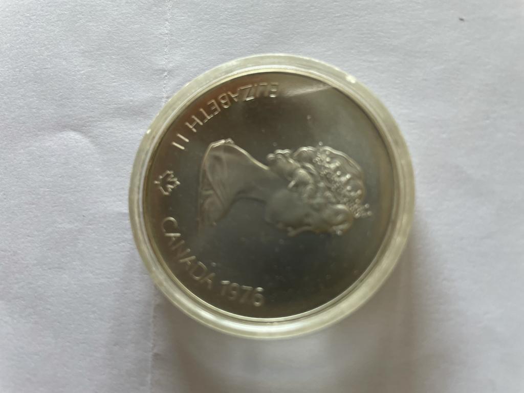 Moneta commemorativa Olimpiadi di Montreal