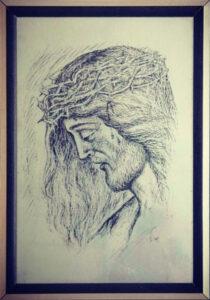 Franco Toti – Il volto di Cristo