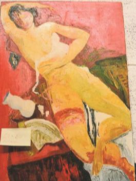 Angelo Colagrossi – Donna con giarrettiera