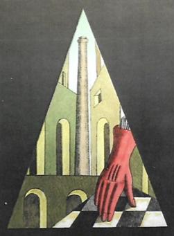 Giorgio De Chirico – Guanto rosso