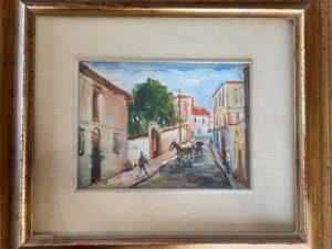 Una strada a Ercolano – Cortiello Mario