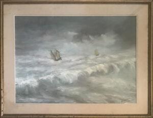 Guido Razzi – Mare in tempesta