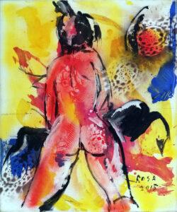 Michele Rosa – Nudo di donna