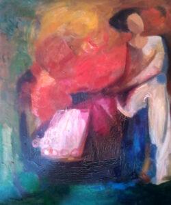 Trento Longaretti – Figura donna