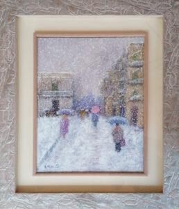 Antonio Pasciuti – Via netti sotto la neve