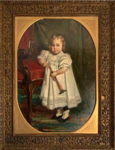 Giovanni Pezzotta – Bambina con trombetta