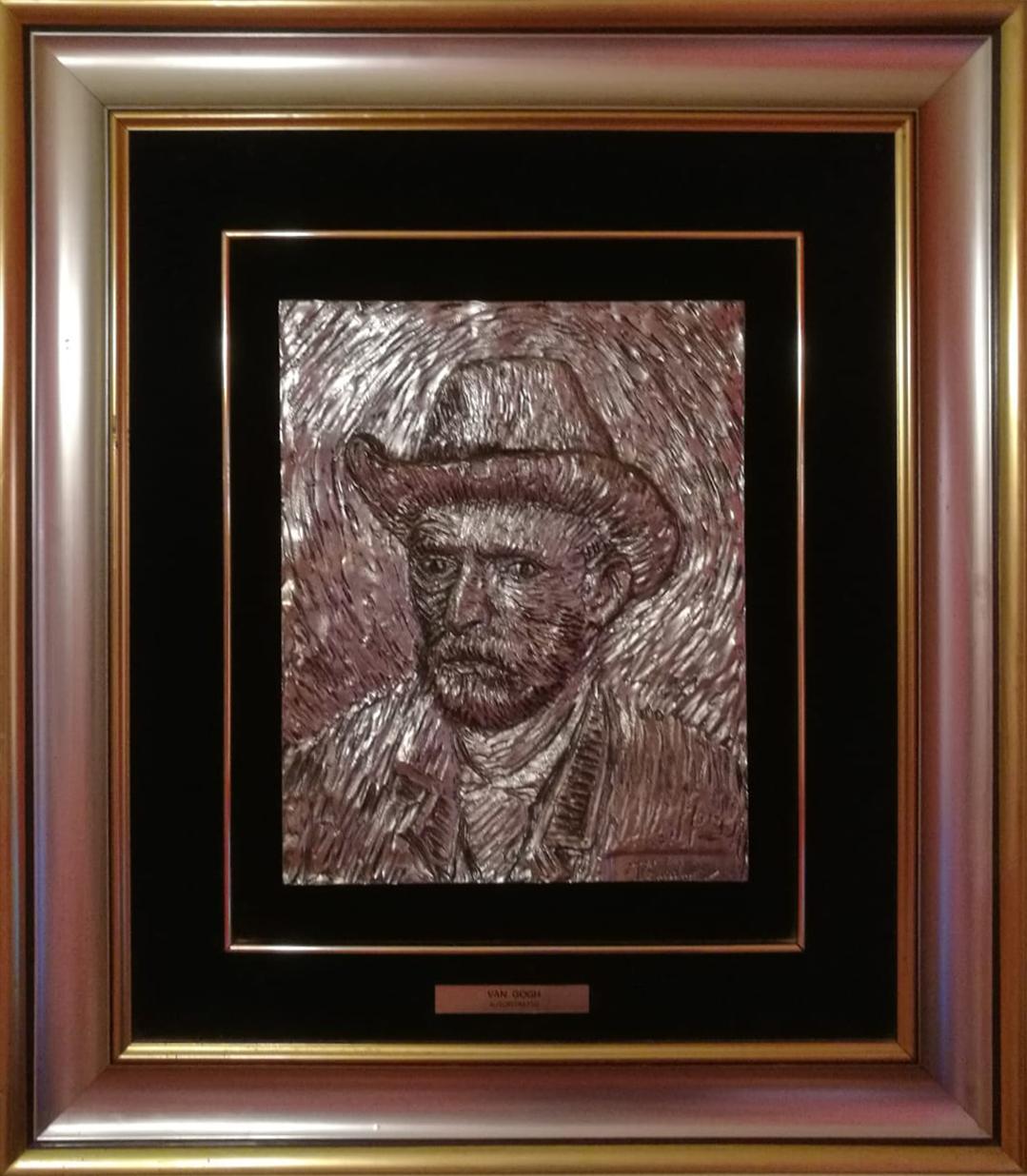 Domenico Chiarolanza – Autoritratto – Omaggio a Van Gogh
