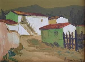 Vittorio Maccioni – Vecchie case a Guspini – GMON001