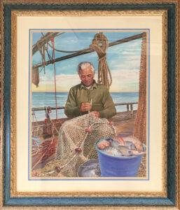 Ezio Tarantelli – Il pescatore