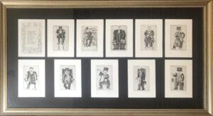 Franz Borghese – I ritratti