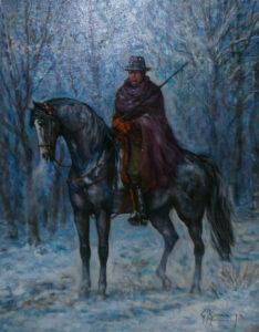 Giovan Francesco Gonzaga – Buttero sotto la neve