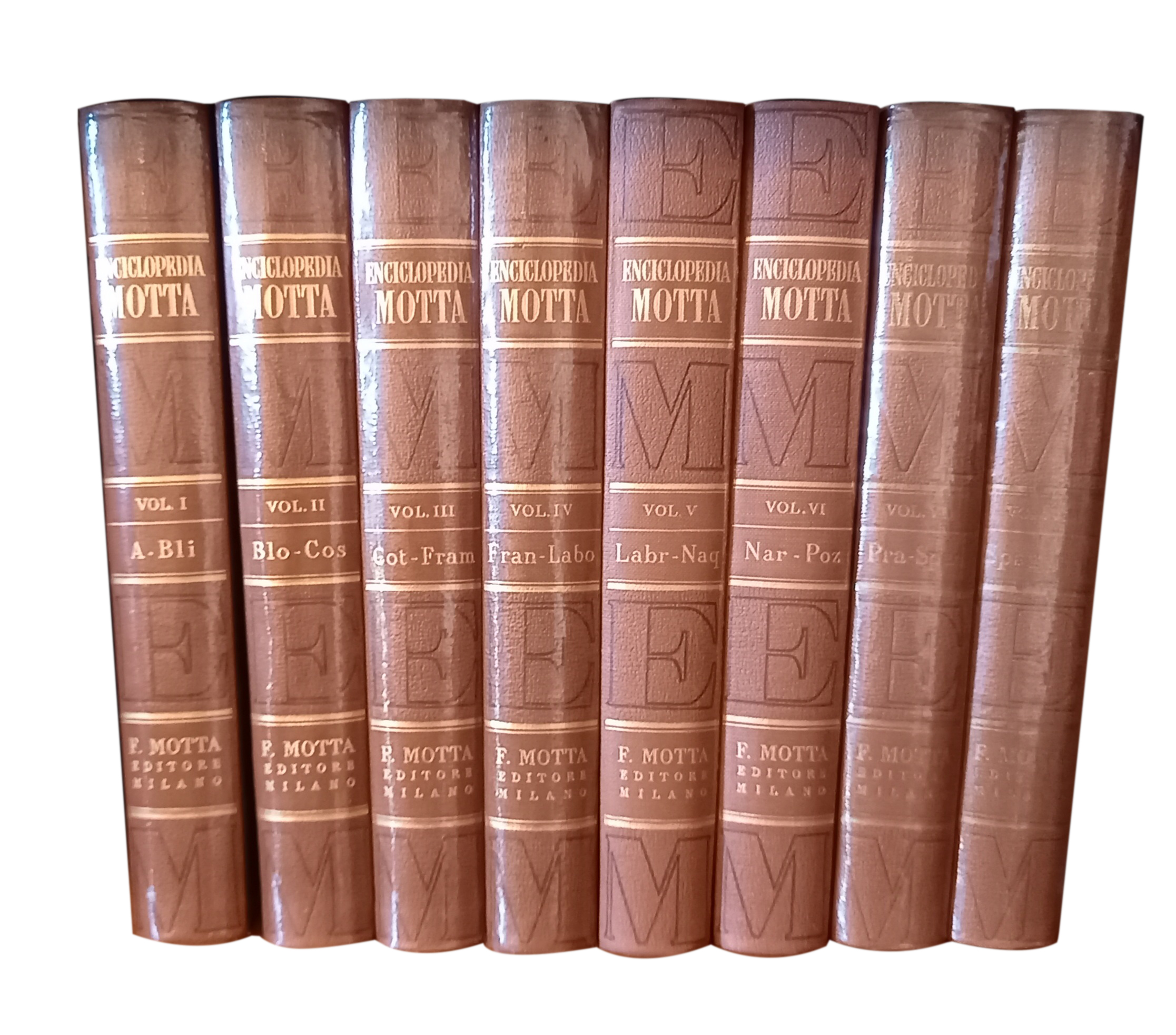 Motta – Enciclopedia Motta anni '80
