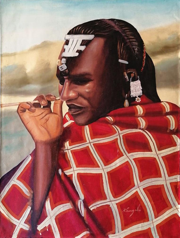 Saburi – Uomo Masai