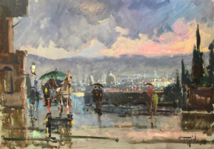 Mario Poggiali – Panorama e carrozza