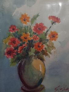 Giordano Poletti – Vaso di fiori