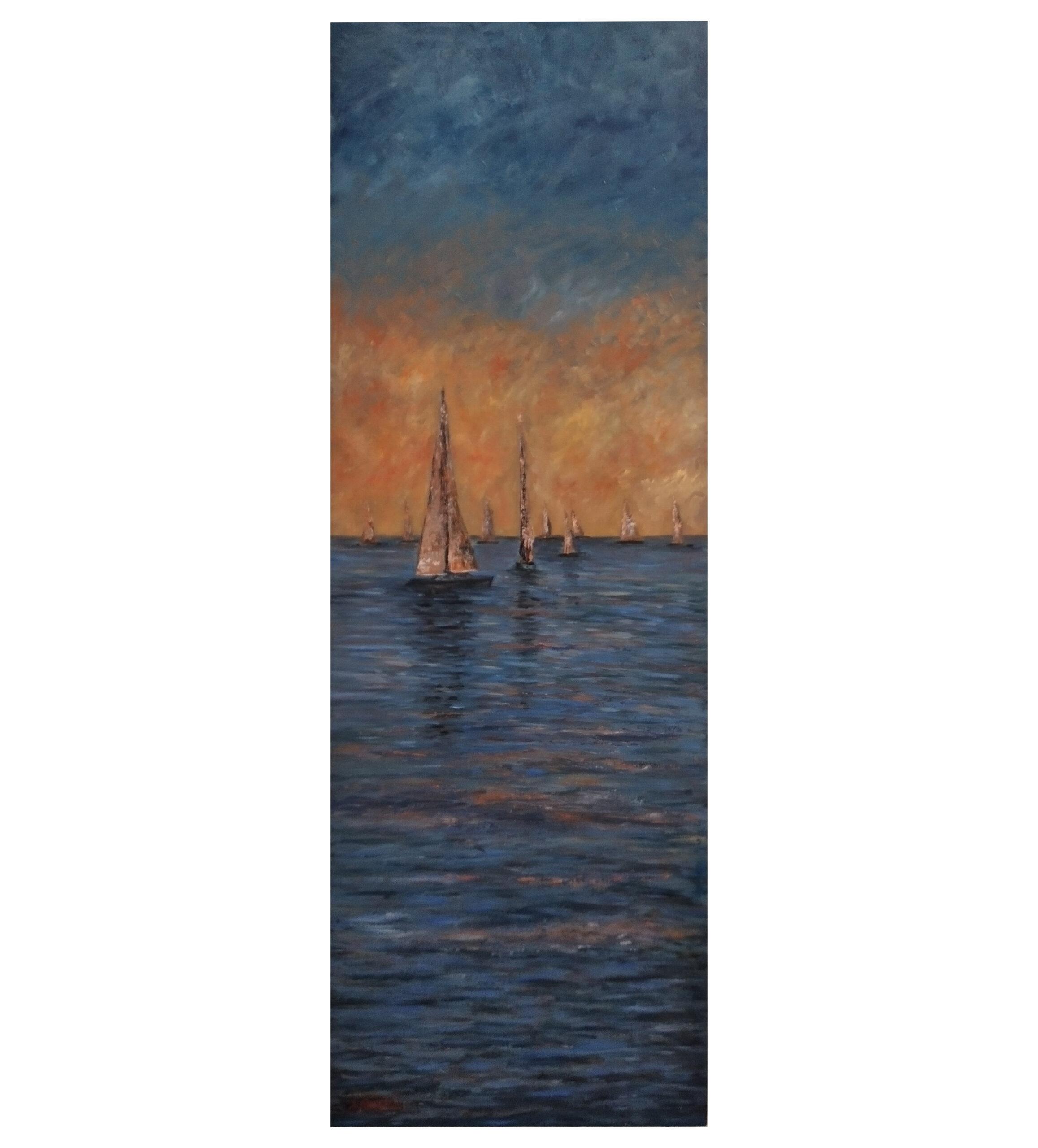 Andrea Panicale – Regata sull'Adriatico