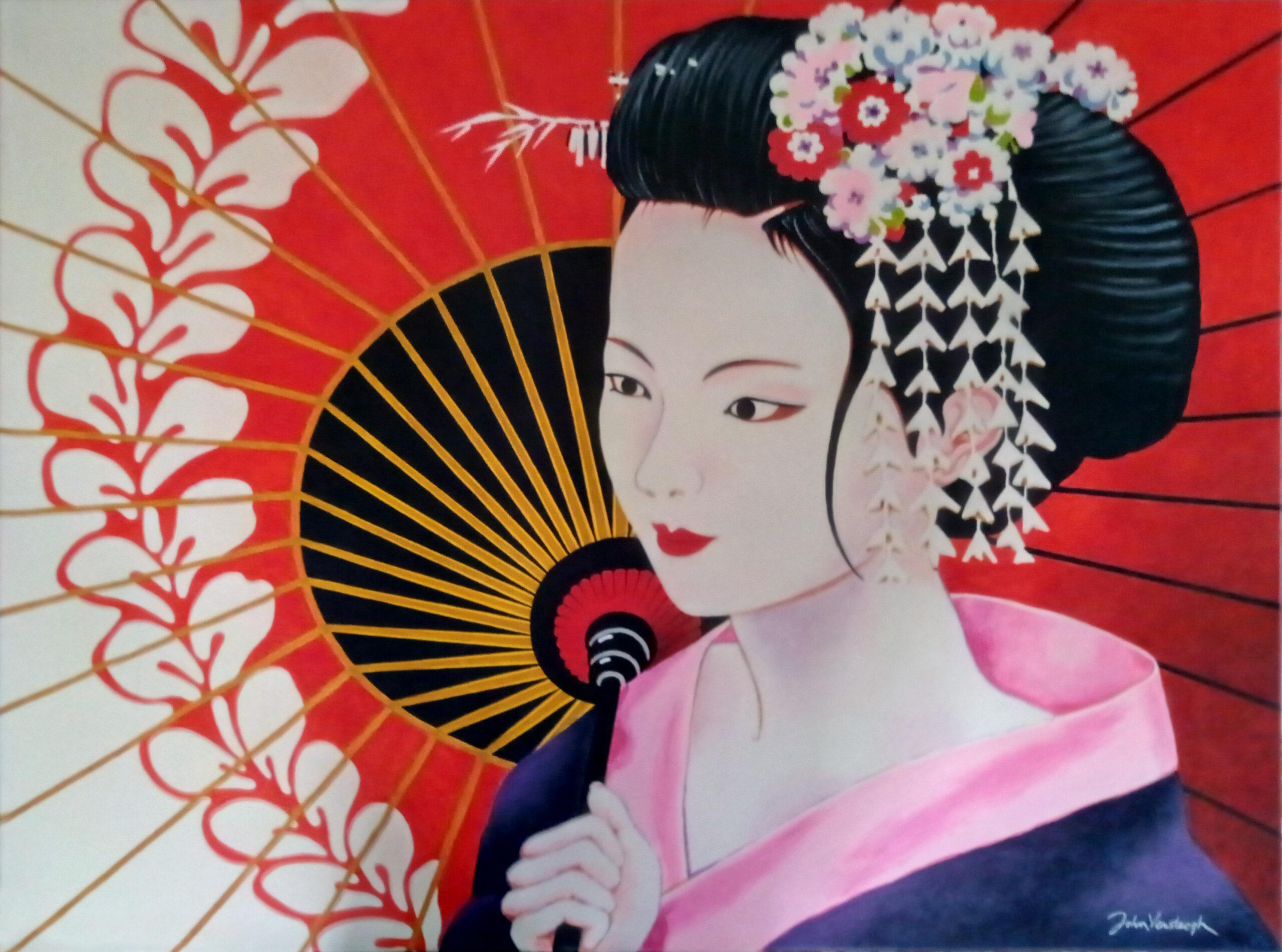 John Versteegh – Geisha